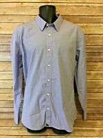 UNTUCKit Long Sleeve Button Front Shirt Size XL Mens Purple Plaid L/S Top Down