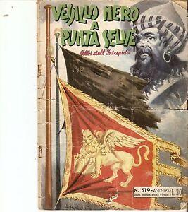 ALBI DELL'INTREPIDO n. 519 del 27-12-1955  PEDRITO EL DRITO TARZAN