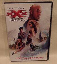 Xxx Return Of Xander Cage, Vin Diesel, Dvd, Single Dvd W/Case & Artwork, (good)