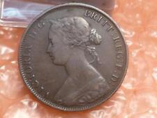 1864 Canada One Cent Coin - Nova Scotia #1