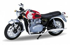 Welly - '02 Triumph Bonneville T100 1/18 Scale Diecast Model Motorcycle