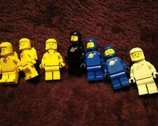 Lego Minifigure Space Classic Benny Spaceman Astronaut Lot of 4 Colors + Extras