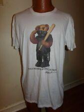 Bootleg Ralph Lauren Polo Bear Large T-Shirt Bear with Bat.