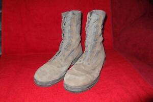 Military Boots 11 Reg Sage Green Belleville Waterproof USAF Flight Gore-Tex 245