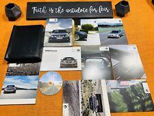 2010 BMW 5 SERIES 528i 535i 550i OWNERS MANUAL NAVI INFO xDRIVE (NAVI DISC) MINT