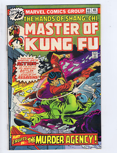 Master of Kung Fu #40 Marvel Pub. 1976