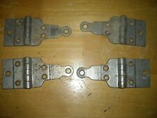 4 vintage Eureka  icebox hinges