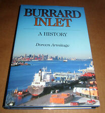 SIGNED BURRARD INLET HISTORY VANCOUVER BRITISH COLUMBIA MARITIME SHIPS BOATS