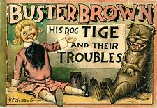 Buster Brown's His Dog Tige and their Troubles by Richard Felton Outcault