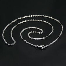 """1.5mm18"""" Womens Jewelry Silver Strong Weld Stainless Steel Rolo Necklace Chain"""