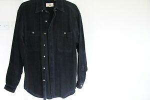 Vintage Northwest Territory Black Corduroy/ Cord Shirt - Size Medium