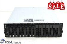 Dell PowerVault Md Amp01 J14Bjq1 Hard Drive Array w/ 8x 300Gb Hd