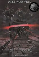AXEL RUDI PELL KNIGHT TREASURES LIVE AND MORE DVD NEW SEALED