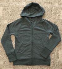 The North Face Women's Terry Zip Rto Hoodie Jacket Sweatshirt Scarab Green S