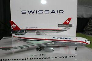 "Swissair DC-10-30 (HB-IHE) ""Vaud"", 1:200, Inflight200, WBDC103001P"