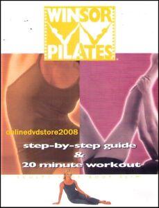 Mari WINSOR PILATES (Step-By-Step Guide) Sculpt Body Slim Health Fitness DVD