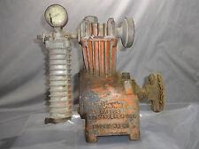 Vintage Antique AIR COMPRESSOR NO. 2N Cast Iron by SHARPE MFG CO LOS ANGELES