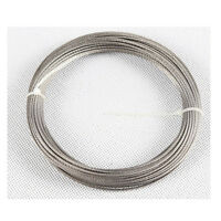 """50feet 1/16""""100% Marine Grade Stainless Steel Cable Wire Rope Free Shipping"""