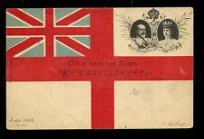 Royalty EDWARD VII Coronation Souvenire u/b PPC used 1903