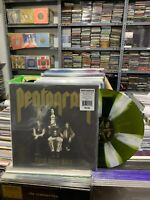 Pentagram LP Ersten Daze Here Reissue Swamp Green With White Pinwheels Splatter