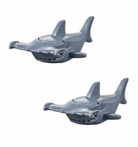 NEW LEGO Sea Creatures Lot - 2 Hammerhead Sharks