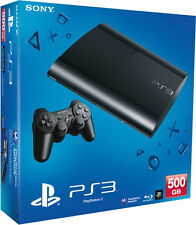 Super Slim Spielekonsolen mit Internet PlayStation 3
