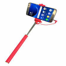 SONY ERICSSON Xperia Ray Selfie Stick - Foto Stange mit AUX - Selfies 1 Pink