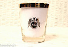 RARE ABC TV CHANNEL 2 WGR-TV BUFFALO Drinking Glass NBC Network Except 2 Yrs ABC
