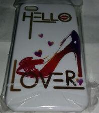 IPHONE 4G 4S COVER RIGIDA PROTETTIVA SFONDO HELLO LOVER ART.74