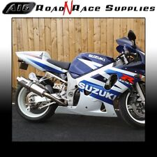 Suzuki GSXR 750 2000-2005 K1 K2 K3 K4 K5 A16 Stainless Exhaust ROAD LEGAL