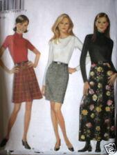 6551 Vintage NEW LOOK  SEWING Pattern Misses A-Line or Slim Dress 8-18 UNCUT OOP