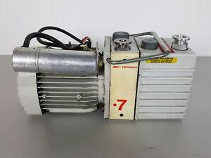 Edwards 7 Vacuum Pump Rotary Vane E2M0.7 Lab