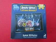 SUPER 3D PUZZLE Angry Birds Star Wars Cardinal 150 Jigsaw Pieces 90458
