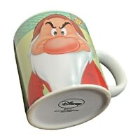 Disney Grumpy Dwarf 'This is My Happy Face' Tea Coffee Cocoa Mug 12oz Snow White