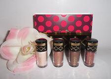 MAC Nutcracker Sweet BRONZE Mini Pigments + and Glitter Kit 4pc Gift Set