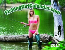 fishing girl calendar