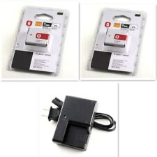 2PCS NP-BG1 Type G Lithium Ion Battery + CHARGER for Sony W Series DSLR Camera