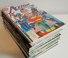Action Comics Weekly complete full run #601-642 1988-89 DC Superman