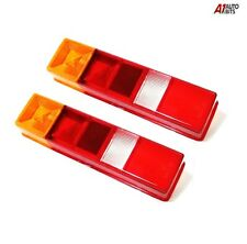 For Ford Transit Tipper Pickup Luton Pair Of L Or R Rear Lights Lens 1985-2014