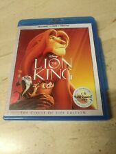 The Lion King Blu-ray: Region Free and DVD: NTSC Region 1