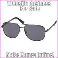 SUNGLASSES Website Earn $50.00 A SALE|FREE Domain|FREE Hosting|FREE Traffic