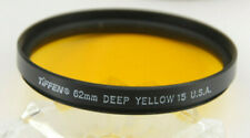 Tiffen - 62mm Deep Yellow 15 Lens Filter with Case - Used - C842