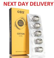 Genuine OBS Cube / Draco M1 Mesh Coils 5 Pack - Buy 2 or More Packs for Each