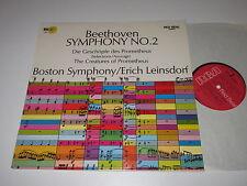 LP/BEETHOVEN/SYMPHONY 2/LEINSDORF/RCA LSC 3032 *