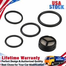 Black Injector Pressure Regulator Seal Kit for Ford E-350 LCF Excursion 6.0L V8