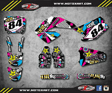 Honda CR 250 - 2000 / 2001 Full Custom Graphic Kit RUSH STYLE stickers / decals