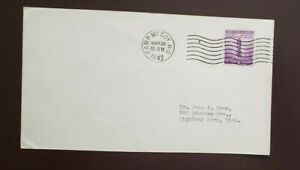 1942 WWII    CAMP McCOY WISCONSIN US WARTIME Cover 5/26/1942