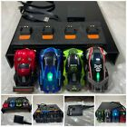 Anki Overdrive 4 Slot Car Lot SuperCar +Charger: Skull,Nuke,Ground Shock,Thermo