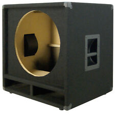 1X18 Bass Speaker Empty Cabinet Black Carpet PA, DJ, Live Music, Theater Sub
