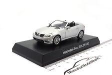 #201110 - Kyosho Mercedes-Benz SLK 55 AMG - Silber - 1:64